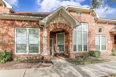 Pearland Condo/Townhouse For Sale: 3310 Spring Landing Lane