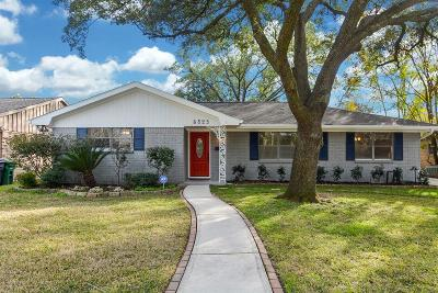 Houston Single Family Home For Sale: 5823 Belrose Drive