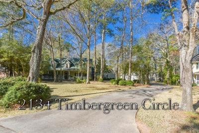 Magnolia Single Family Home For Sale: 2134 Timbergreen Circle