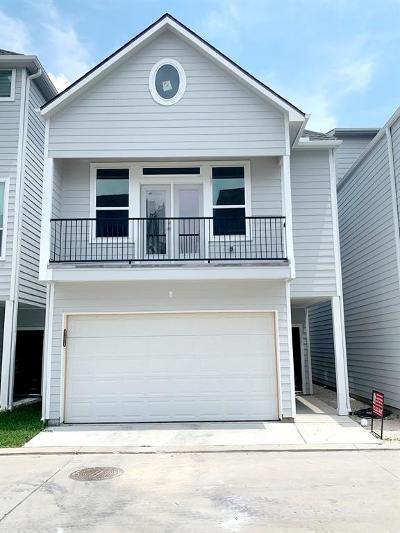Houston Single Family Home For Sale: 608a Hawthorne Grove
