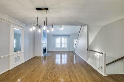 Houston Condo/Townhouse For Sale: 2905 W Dallas Street