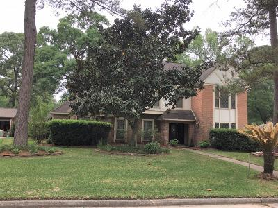 Kingwood Single Family Home For Sale: 3611 Deerbrook Drive