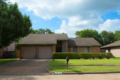 Houston Single Family Home For Sale: 3834 Gamlin Bend Drive