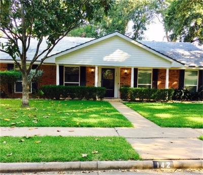 Sugar Land Single Family Home For Sale: 142 Bluebonnet Street