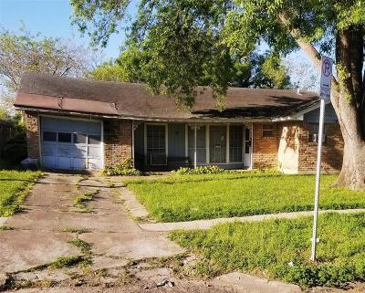 Houston Single Family Home For Sale: 6510 Grape Street