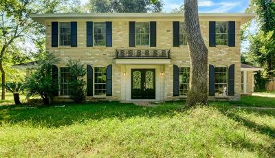 Conroe Single Family Home For Sale: 751 Stonewall Jackson Drive