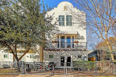Houston Single Family Home For Sale: 912 Patterson Street