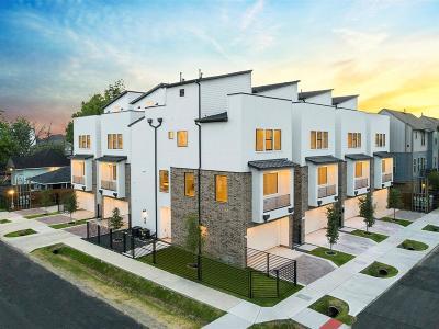 Houston Single Family Home For Sale: 1207 Thompson Street