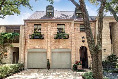 River Oaks Condo/Townhouse For Sale: 10 S Briar Hollow Lane #75
