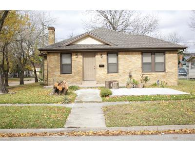Single Family Home For Sale: 3130 Indiana Street