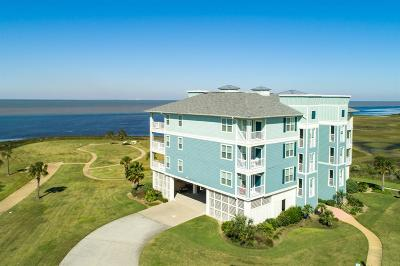 Galveston Condo/Townhouse For Sale: 26570 Bay Water Drive #102