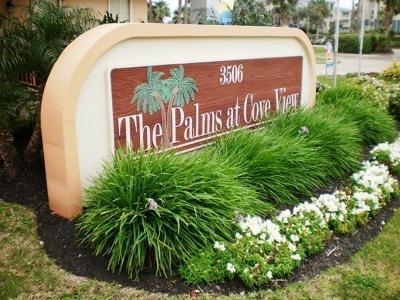 Galveston Condo/Townhouse For Sale: 3506 Cove View Boulevard #510
