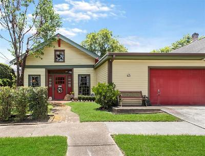 Houston Single Family Home For Sale: 1410 Indiana Street