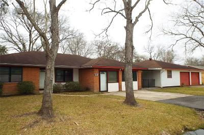 Pearland Single Family Home For Sale: 1112 Union Valley Drive