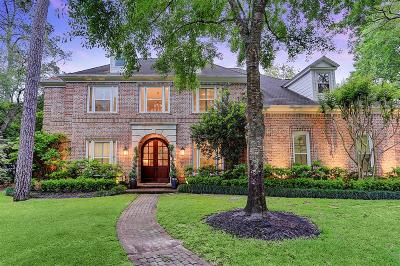 Houston Single Family Home For Sale: 7 Bradfield Court