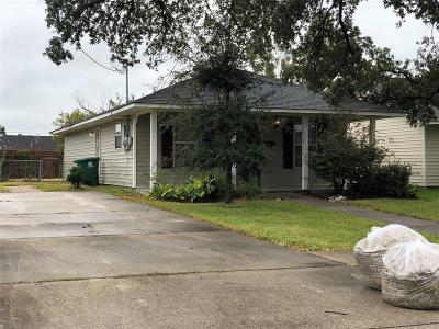 Houston TX Single Family Home For Sale: $139,999