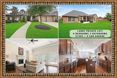 Humble Single Family Home Pending: 13923 Majestic Spring Lane