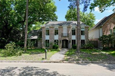 Houston TX Single Family Home For Sale: $319,000