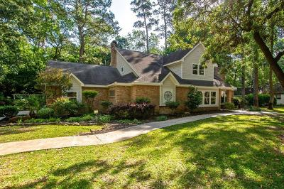 Kingwood Single Family Home For Sale: 2506 Twin Grove Drive