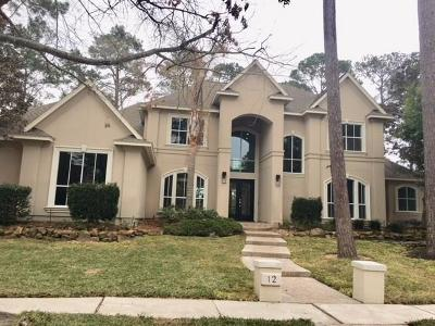 Kingwood Single Family Home For Sale: 12 Club Oak Court