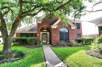 Galveston County, Harris County Single Family Home For Sale: 7631 Granite Ridge Lane