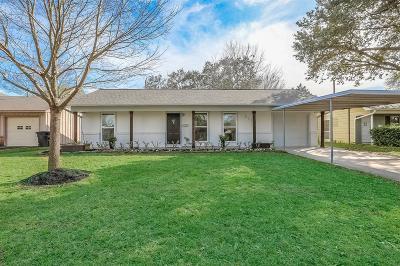 Houston Single Family Home For Sale: 5121 De Lange Lane