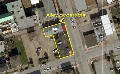 Galveston Multi Family Home For Sale: 715 24th Street