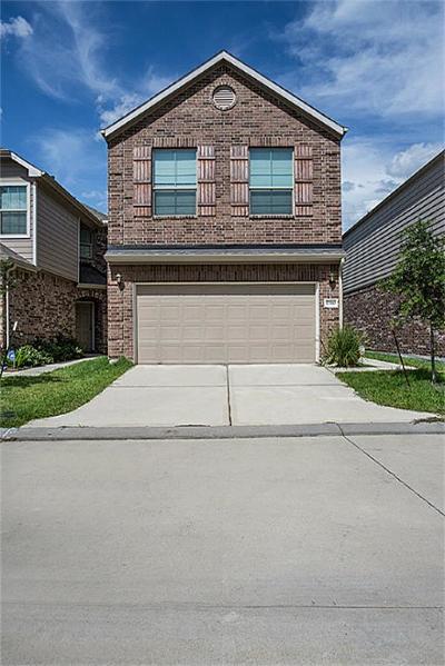 Houston Single Family Home For Sale: 17110 Amarose Drive