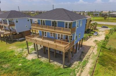 Galveston Single Family Home For Sale: 22224 Kennedy Drive