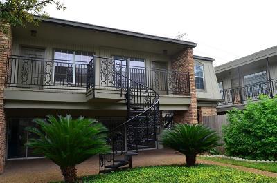 Houston Condo/Townhouse For Sale: 3131 Southwest Freeway #D42