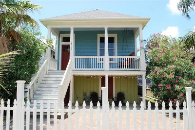 Galveston Rental For Rent: 1712 Avenue O