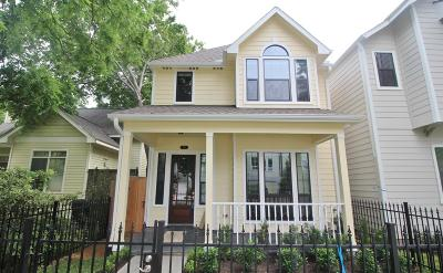 Houston Single Family Home For Sale: 825 W 20th Street #A