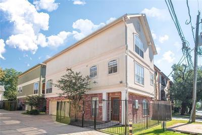 Houston Single Family Home For Sale: 1302 Utah Street