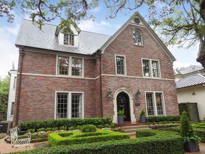 Houston Single Family Home For Sale: 2103 South Boulevard