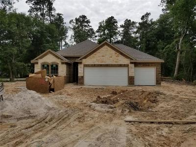 New Caney Single Family Home For Sale: 2558 Fountain View St
