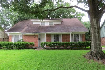 Houston Single Family Home For Sale: 8211 Hazen Street
