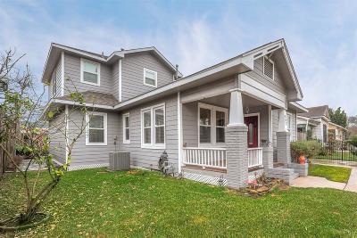 Houston Single Family Home For Sale: 807 Cordell Street