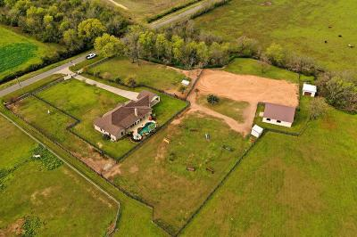 Waller Single Family Home Option Pending: 33230 Baethe Road