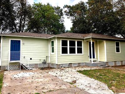 Houston Single Family Home For Sale: 407 Plymouth Street