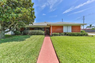 Galveston Single Family Home For Sale: 2824 E Palm Circle