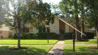Katy Single Family Home For Sale: 21415 Park Villa Drive