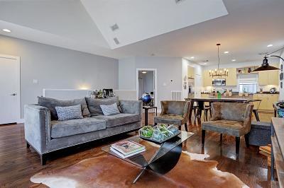 Houston Condo/Townhouse For Sale: 2212 Bastrop Street