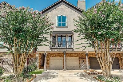 Houston Condo/Townhouse For Sale: 3820 Hazard