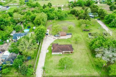 Alvin Single Family Home For Sale: 5112 Farmer Road