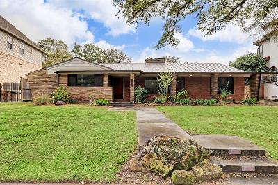 Houston Single Family Home For Sale: 3615 Tartan Lane