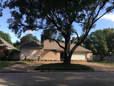 Houston Single Family Home For Sale: 2518 Underwood