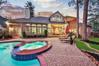 The Woodlands Single Family Home For Sale: 3 Noble Bend Place