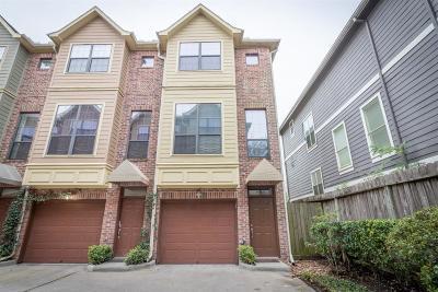 Houston TX Condo/Townhouse For Sale: $307,000