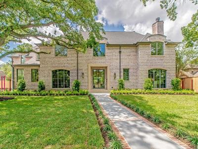 Houston Single Family Home For Sale: 5719 Indian Trail