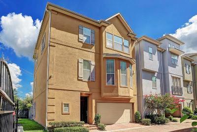 Houston Single Family Home For Sale: 2834 Sherwin Street